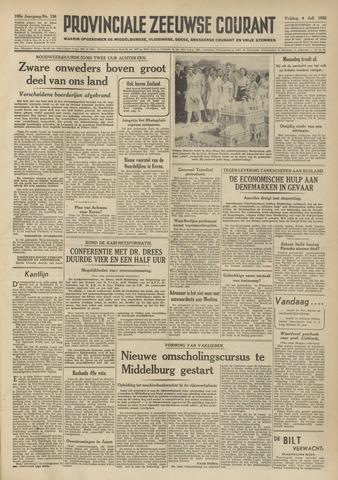 Provinciale Zeeuwse Courant 1952-07-04