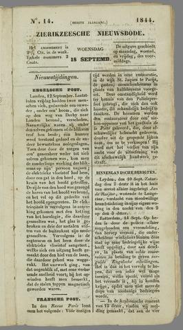Zierikzeesche Nieuwsbode 1844-09-18