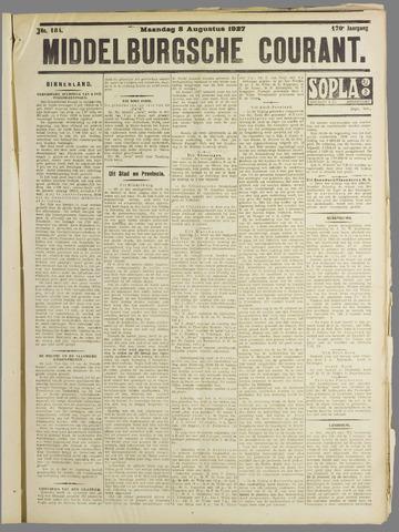 Middelburgsche Courant 1927-08-08