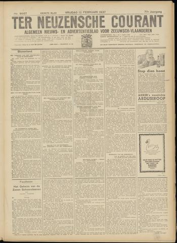 Ter Neuzensche Courant. Algemeen Nieuws- en Advertentieblad voor Zeeuwsch-Vlaanderen / Neuzensche Courant ... (idem) / (Algemeen) nieuws en advertentieblad voor Zeeuwsch-Vlaanderen 1937-02-12