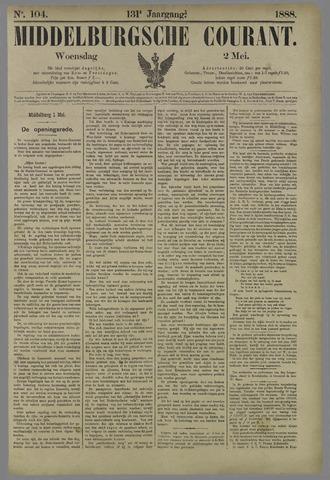 Middelburgsche Courant 1888-05-02