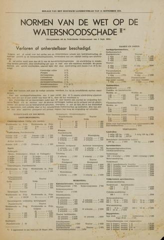 Watersnood documentatie 1953 - tijdschriften 1954-09-11