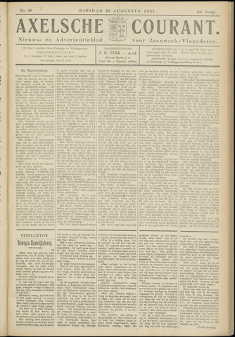 Axelsche Courant 1927-08-16