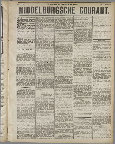 Middelburgsche Courant 1921-08-17