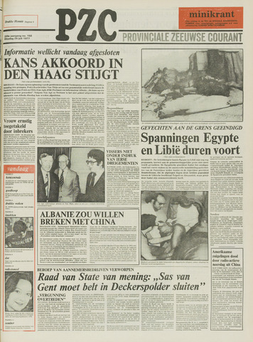 Provinciale Zeeuwse Courant 1977-07-26