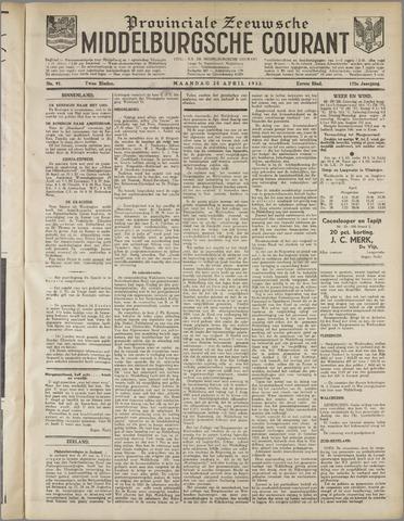 Middelburgsche Courant 1932-04-25
