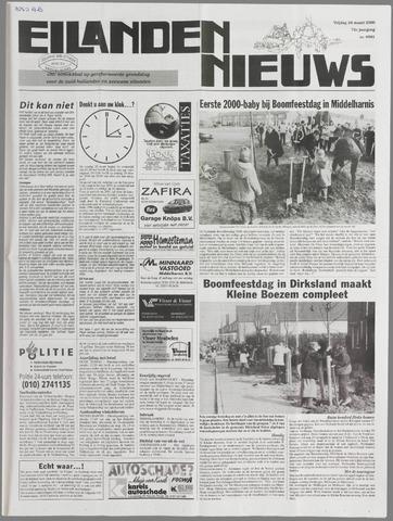 Eilanden-nieuws. Christelijk streekblad op gereformeerde grondslag 2000-03-24