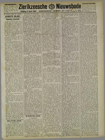 Zierikzeesche Nieuwsbode 1921-04-08