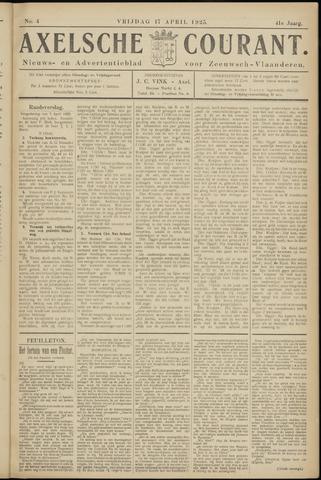 Axelsche Courant 1925-04-17