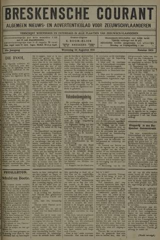 Breskensche Courant 1921-08-24