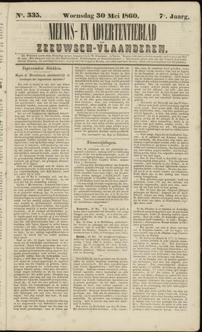 Ter Neuzensche Courant. Algemeen Nieuws- en Advertentieblad voor Zeeuwsch-Vlaanderen / Neuzensche Courant ... (idem) / (Algemeen) nieuws en advertentieblad voor Zeeuwsch-Vlaanderen 1860-05-30