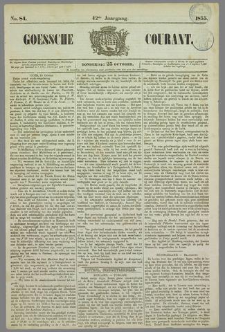 Goessche Courant 1855-10-25