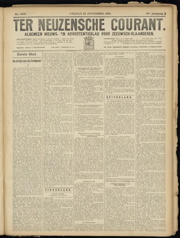 Ter Neuzensche Courant. Algemeen Nieuws- en Advertentieblad voor Zeeuwsch-Vlaanderen / Neuzensche Courant ... (idem) / (Algemeen) nieuws en advertentieblad voor Zeeuwsch-Vlaanderen 1929-11-29