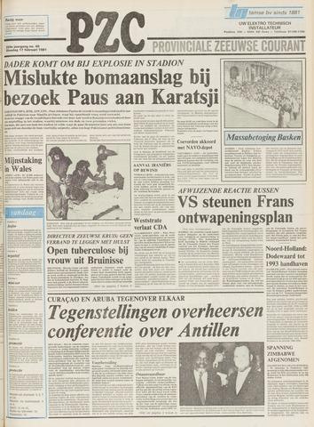 Provinciale Zeeuwse Courant 1981-02-17