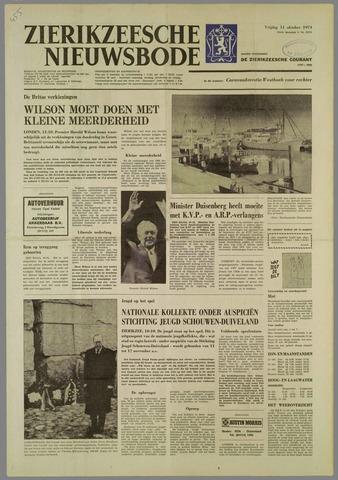 Zierikzeesche Nieuwsbode 1974-10-11