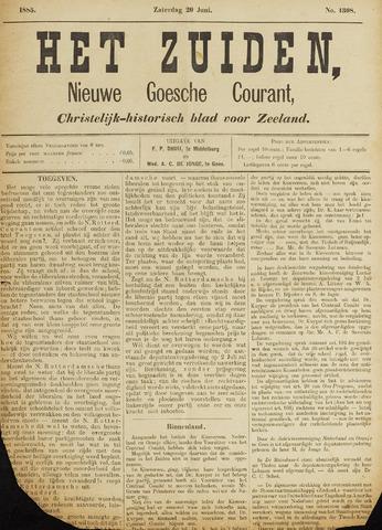 Het Zuiden, Christelijk-historisch blad 1885-06-20