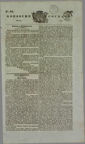 Goessche Courant 1836-07-04