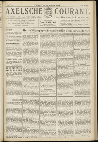 Axelsche Courant 1939-12-22