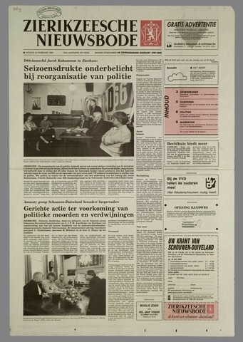 Zierikzeesche Nieuwsbode 1994-02-25