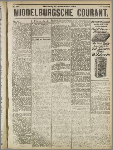 Middelburgsche Courant 1922-11-13