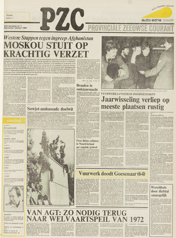 Provinciale Zeeuwse Courant 1980