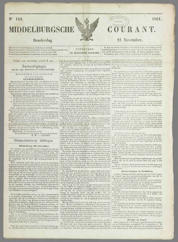 Middelburgsche Courant 1861-11-21