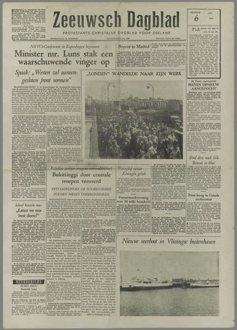 Zeeuwsch Dagblad 1958-05-06
