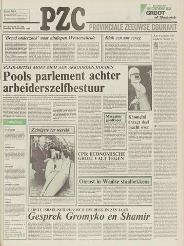 Provinciale Zeeuwse Courant 1981-09-26