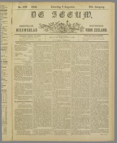 De Zeeuw. Christelijk-historisch nieuwsblad voor Zeeland 1906-08-04