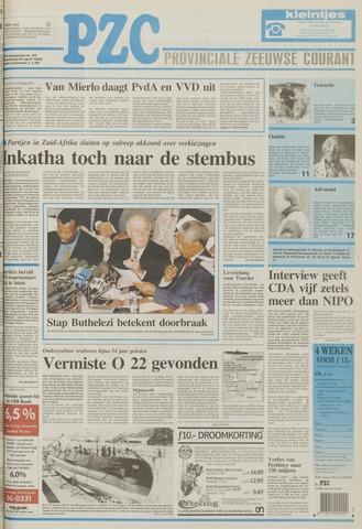 Provinciale Zeeuwse Courant 1994-04-20
