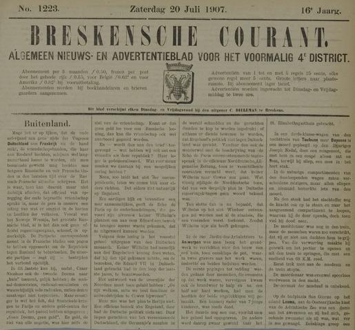 Breskensche Courant 1907-07-20
