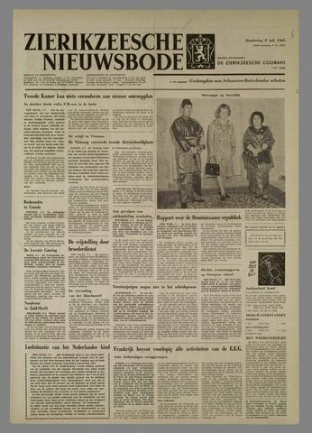 Zierikzeesche Nieuwsbode 1965-07-08