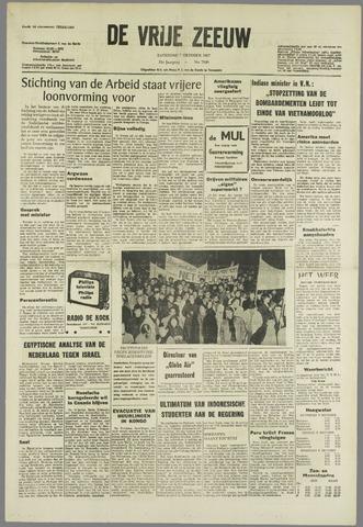 de Vrije Zeeuw 1967-10-07