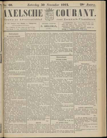 Axelsche Courant 1912-11-30