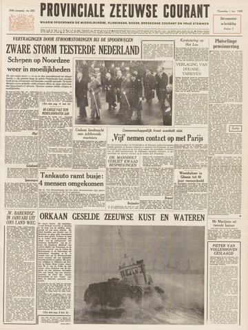 Provinciale Zeeuwse Courant 1965-12-01