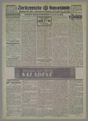 Zierikzeesche Nieuwsbode 1934-01-08