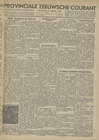 Provinciale Zeeuwse Courant 1944-03-27
