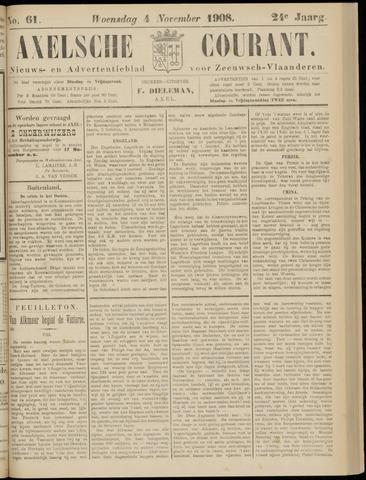 Axelsche Courant 1908-11-04
