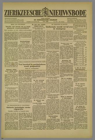 Zierikzeesche Nieuwsbode 1952-08-28