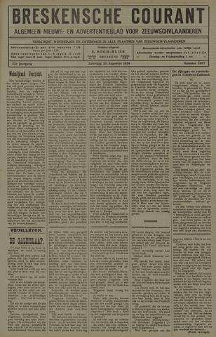 Breskensche Courant 1924-08-30