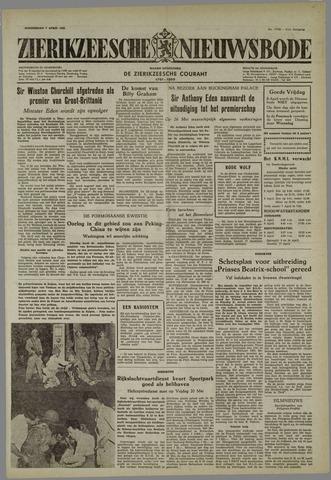 Zierikzeesche Nieuwsbode 1955-04-07