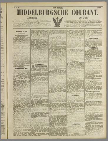Middelburgsche Courant 1906-07-28