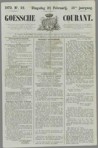 Goessche Courant 1872-02-20