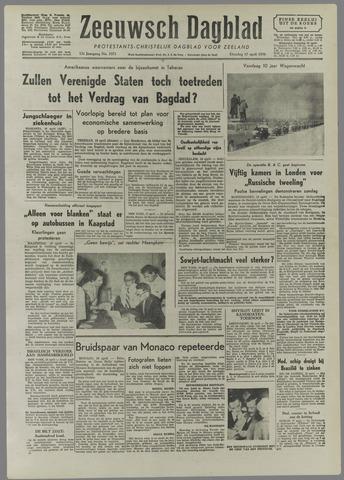 Zeeuwsch Dagblad 1956-04-17