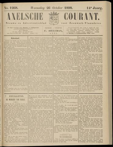 Axelsche Courant 1898-10-26