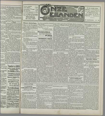 Onze Eilanden 1927-07-20
