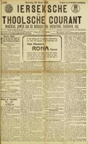 Ierseksche en Thoolsche Courant 1913-03-22