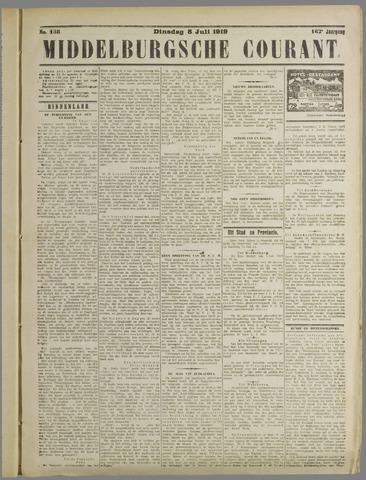 Middelburgsche Courant 1919-07-08