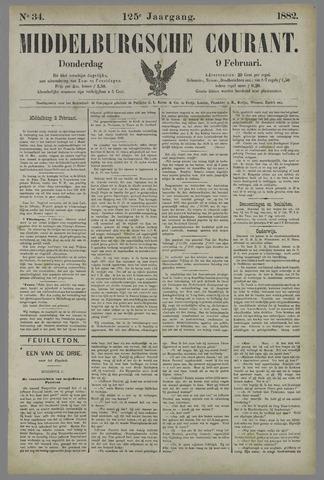 Middelburgsche Courant 1882-02-09