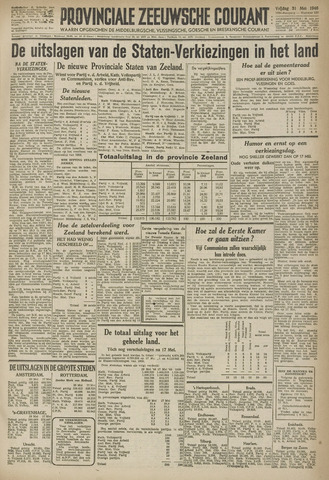 Provinciale Zeeuwse Courant 1946-05-31